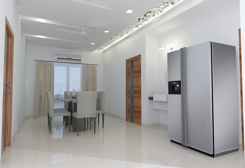 dining room from puja