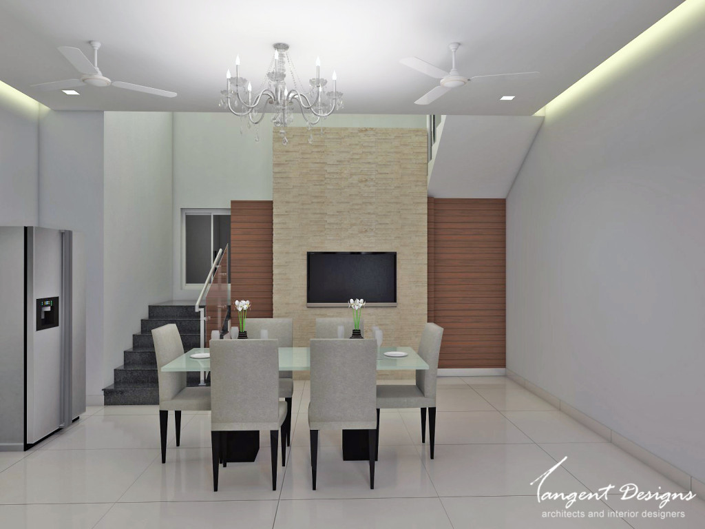 Forth floor Living Dining Ceiling
