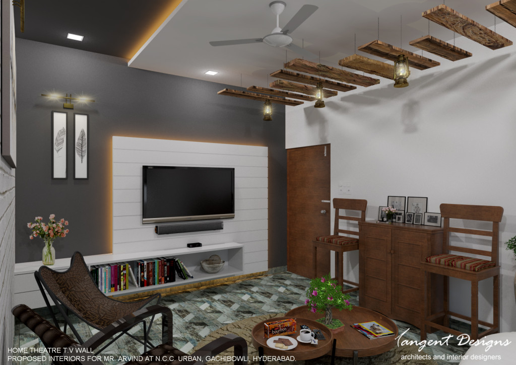 06- HOME THEATRE TV WALL
